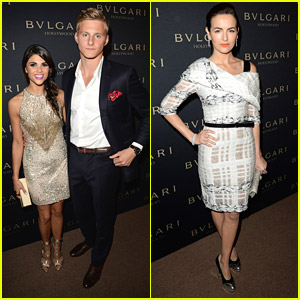 Camilla Belle & Alexander Ludwig: 'Decades Of Glamour' Event