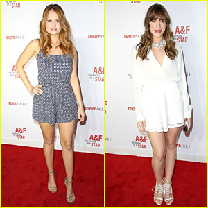 Debby Ryan & Christa B. Allen: Abercrombie & Fitch's Making of a Star Party Babes!