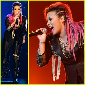 Demi Lovato Stands Up to Haters: 'I Get Knocked Down, But I Get Up Again'