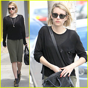 Emma Roberts: You Must Read Olivia Wilde's Article in 'Glamour'!