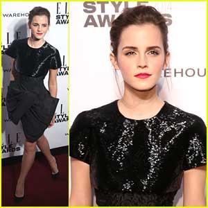 Emma Watson: Elle Style Awards 2014
