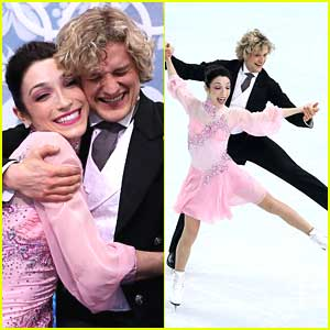 Meryl Davis & Charlie White Break Another Record for Ice Dance Short Program at Sochi Olympics