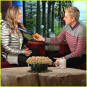 Snowboarder Jamie Anderson Stops by 'Ellen' After Sochi Olympics