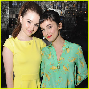 Kaitlyn Dever & Molly Ephraim: SAG's Capital Campaign Launch
