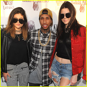 Kendall & Kylie Jenner Attend Last Kings Flagship Store Opening