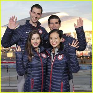 Marissa Castelli & Felicia Zhang: 'Today' Show Stop at Sochi Olympics