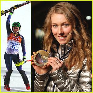 Mikaela Shiffrin Wins Gold; Youngest Alpine Champion Ever at Sochi Olympics