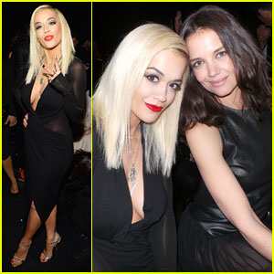 Rita Ora: Front Row at Donna Karan with Katie Holmes!