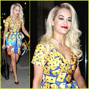 Rita Ora Arrives For Milan Fashion Week After BRIT Awards