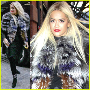 Rita Ora: Photo Shoot Fresh in NYC!