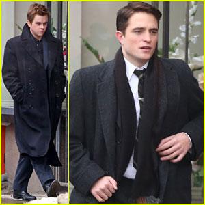 Robert Pattinson & Dane DeHaan Suit Up for 'Life' Scenes in Toronto