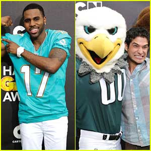 Jason Derulo & Tyler Posey: Hall of Game Awards 2014
