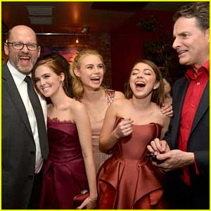 Zoey Deutch, Lucy Fry, & Sarah Hyland: 'Vampire Academy' After Party Pics!