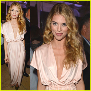 AnnaLynne McCord: Hollywood Domino Gala 2014