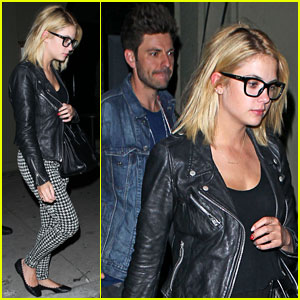 Ashley Benson & Ryan Good Keep Close at Craig's