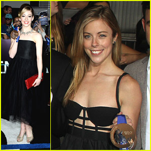Gracie Gold: 'Divergent' Premiere with Fellow Olympians Jason Brown, Ashley Wagner & Nick Goepper!