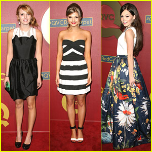 Bella Thorne & Stefanie Scott: QVC Red Carpet Style Event 2014 with Kelli Berglund