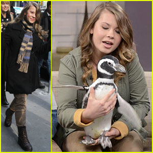 Bindi Irwin Announces SeaWorld Partnership on 'Good Morning America'