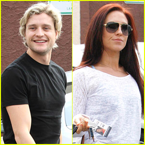Go Inside The Dance Studio with Charlie White & Sharna Burgess!
