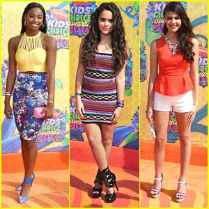 Coco Jones & Madison Pettis: Kids' Choice Awards 2014 with Amber Montana & Sammi Hanratty