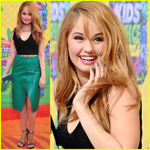Debby Ryan is Nominated Tonight for Favorite TV Actress at the Kids' Choice Awards 2014!