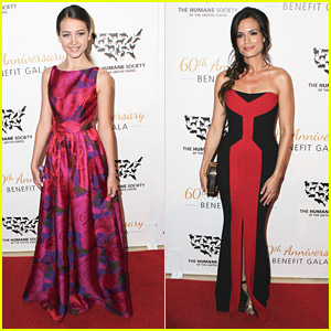 Emma Fuhrmann & Torrey DeVitto Wow at Humane Society's 60th Anniversary Gala