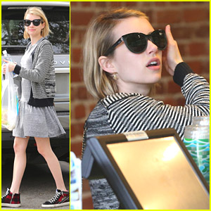 Emma Roberts Celebrates National Reading Month with Stephen King Novel