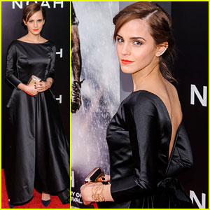 Emma Watson Stuns at the 'Noah' Premeire!
