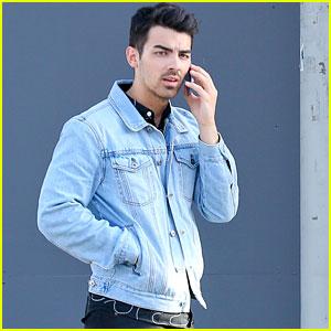 Joe Jonas Dons Denim for Urth Lunch
