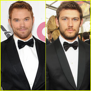 Kellan Lutz & Alex Pettyfer: EJAF Oscars 2014 Party Guys