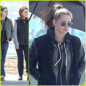 Kristen Stewart & Julianne Moore Walk The Boardwalk for 'Still Alice'