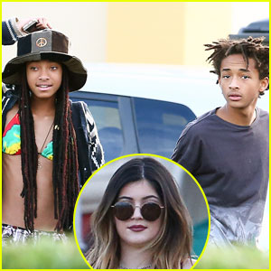 Kylie Jenner Hits Up Sugarfish Sushi with Willow and Jaden Smith