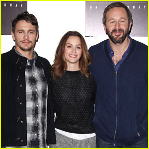 Leighton Meester: 'Of Mice and Men' NYC Press Conference