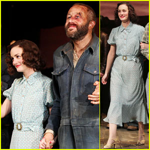 Leighton Meester Previews 'Of Mice and Men' on Broadway