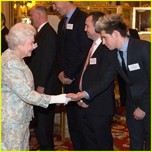 Niall Horan Meets Queen Elizabeth II!
