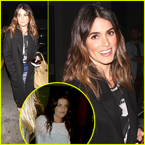 Nikki Reed Dines With Brunette Lauren Alaina