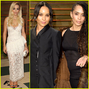 Rita Ora & Zoe Kravitz: Vanity Fair Oscars 2014 Party Attendees!