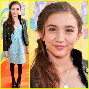 Rowan Blanchard is Super Stylish at the Kids' Choice Awards 2014!