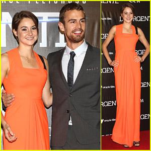 Shailene Woodley & Theo James: 'Divergent' Mexico Premiere!
