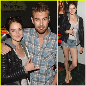 Shailene Woodley Supports All It Takes at 'Divergent' Screening