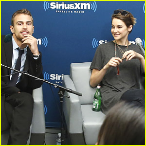 Shailene Woodley & Theo James Get Sirius About 'Divergent'