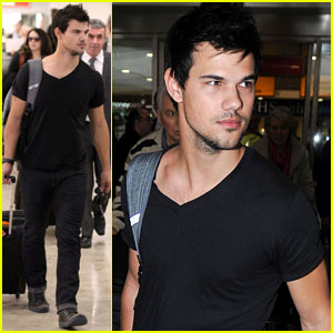 Taylor Lautner Flies to London for 'Cuckoo' Filming?