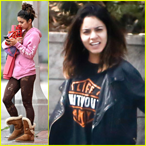 Vanessa Hudgens Rocks Harley David