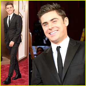 Zac Efron Rooting For Matthew McConaughey at Oscars 2014