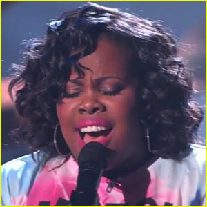 Amber Riley Debuts New Song 'Colorblind' - Full Song & Lyrics!