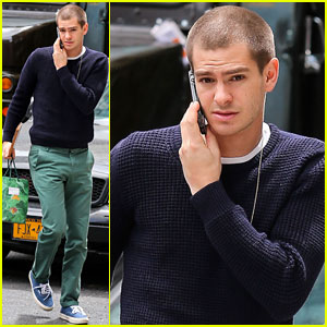 We're Really Starting to Dig Andrew Garfield's Haircut! What Do You Think?