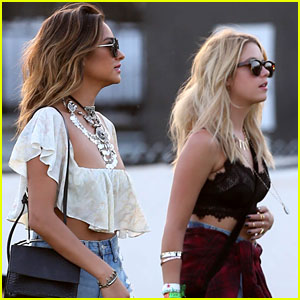 Ashley Benson & Shay Mitchell Are 'Pretty Little' Coachella Pals!
