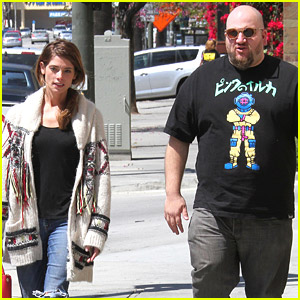Ashley Greene Lunches With Big Time Rush's Stephen Kramer Glickman