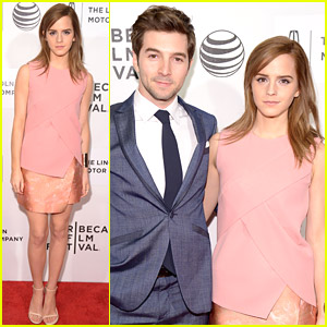 Emma Watson Joins Roberto Aguire On The 'Boulevard' at Tribeca 2014