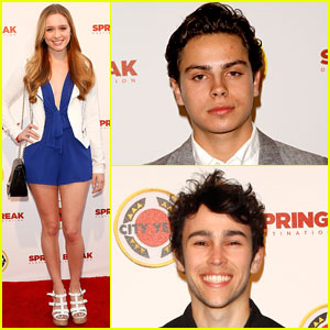 Jake T. Austin & Greer Grammer Get Colorful at City Year Los Angeles Event!